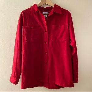Vibrant Red Pendleton Knockabout Shirt